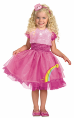 FRILLY CHEER BEAR CHILD COSTUME