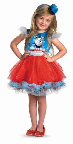 FRILLY THOMAS THE TANK CHILD COSTUME