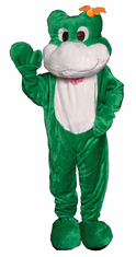 FROG MASCOT ADULT ONE SIZE ADULT COSTUME