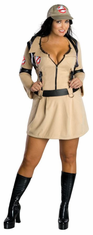 GHOSTBUSTER FEMALE PLUS SIZE ADULT COSTUME