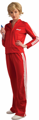 GLEE RED TRACK SUIT (SUE) TEEN COSTUME