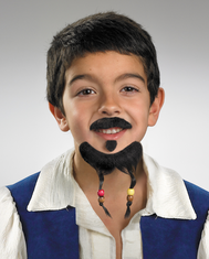 GOATEE AND MUSTACHE PIRATE