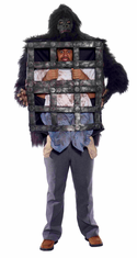 GORILLA WITH CAGE ADULT COSTUME