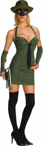 GREEN HORNET ADULT SEXY COSTUME