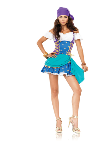 GYPSY PRINCESS ADULT SEXY COSTUME