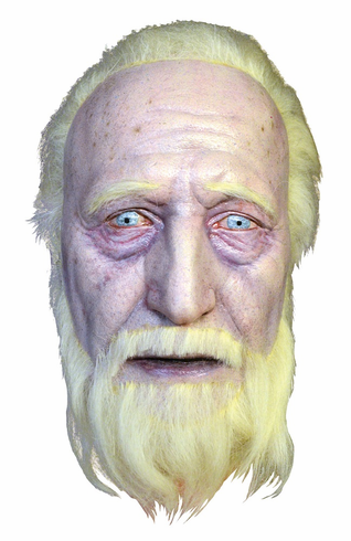 Hershel Walkiing Dead Severed Head Prop