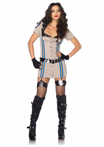 HIGHWAY PATROL HONEY ADULT SEXY COSTUME