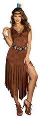 HOT ON THE TRAIL ADULT INDIAN COSTUME