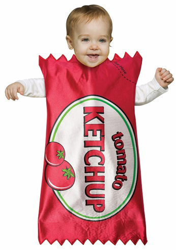 Infant Ketchup Bunting