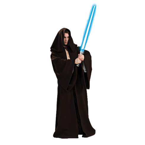 JEDI ROBE SUPER DELUXE ADULT COSTUME