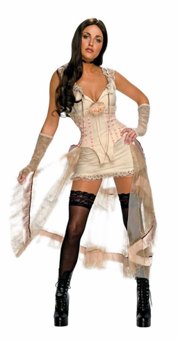JONAH HEX LILAH WHITE ADULT COSTUME