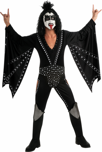 KISS DEMON DELUXE ADULT COSTUME