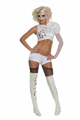 LADY GAGA 2009 VMA PERFORMANCE WHITE OUTFIT