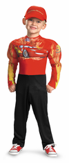 LIGHTNING MCQUEEN MUSCLE CHILD COSTUME