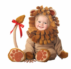 LIL LION LIL CHARACTERS INFANT COSTUME