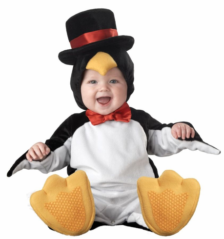 LIL PENGUIN CHARACTER INFANT COSTUME
