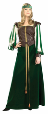 MAID MARION ADULT DELUXE COSTUME
