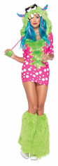 MELODY MONSTER ADULT COSTUME