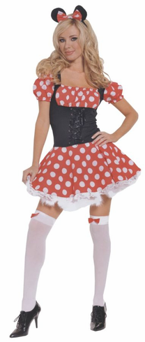 MICKY'S MISTRESS ADULT PLUS SIZE COSTUME