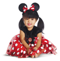 MINNIE MOUSE INFANT RED COSTUME