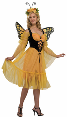 MONARCH BUTTERFLY ADULT COSTUME