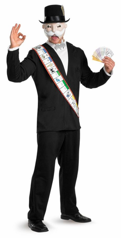 MONOPOLY DELUXE ADULT COSTUME
