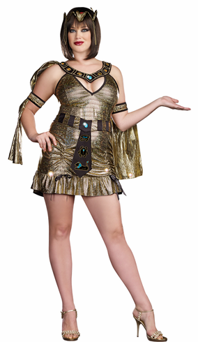 NAUGHTY ON THE NILE PLUS SIZE COSTUME
