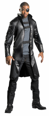 NICK FURY AVENGERS DELUXE ADULT COSTUME