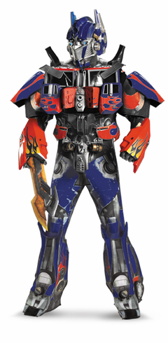 OPTIMUS PRIME RENTAL QUALITY ADULT COSTUME