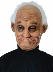 Pappy Old Man Grandpa Mask