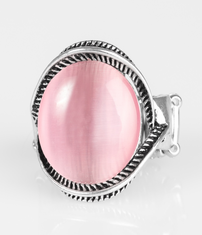 Pink Glow But Sure Ring