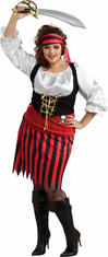 PIRATE ADULT WOMAN PLUS SIZE COSTUME