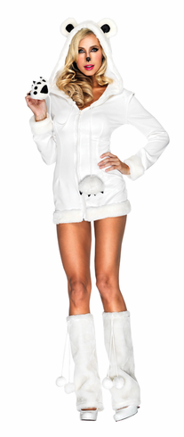 POLAR BEAR SNOWY ADULT COSTUME