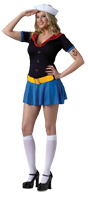 POPEYE SEXY ADULT COSTUME