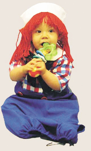 RAGGEDY ANDY BUNTING