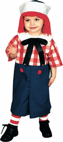 Raggedy Andy Toddler Costume