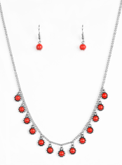 Red Gypsy Glow Necklace