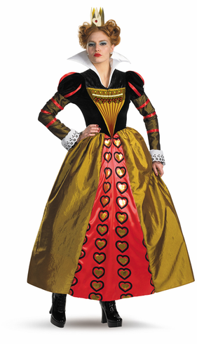 RED QUEEN DLX MOVIE Adult Costume
