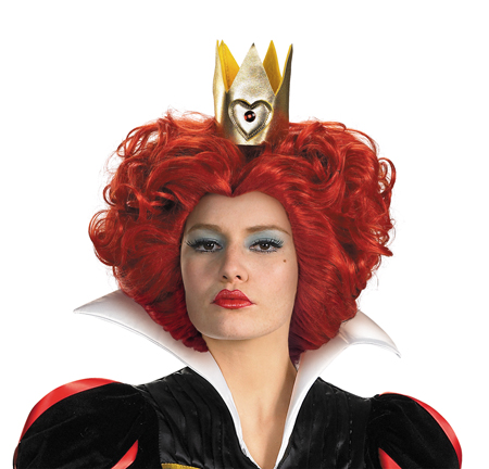 RED QUEEN WIG ALICE IN WONDERLAND