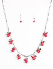 Red Rocky Mountain Magnificence Necklace