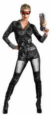 RED SECTOR ORS LADY COMMANDO ADULT COSTUME