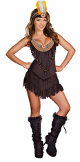 RESERVATION ROYALTY ADULT INDIAN COSTUME