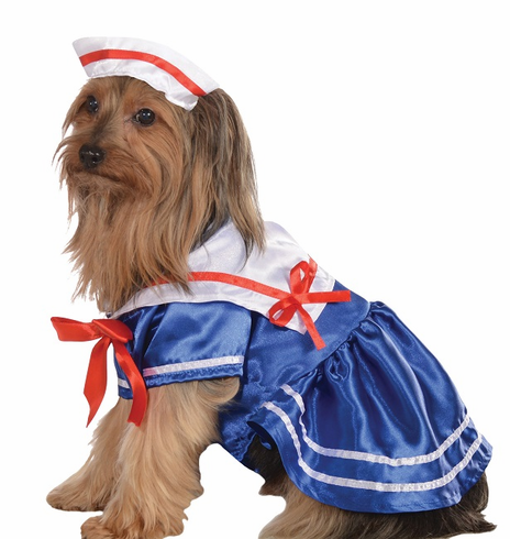 Sailor Girl Dog Costume