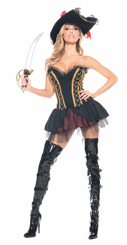 SEVEN SEAS PIRATE ADULT SEXY COSTUME