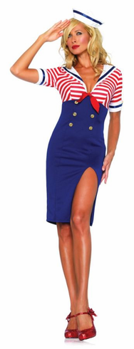 SEXY DECKHAND DIVA ADULT COSTUME