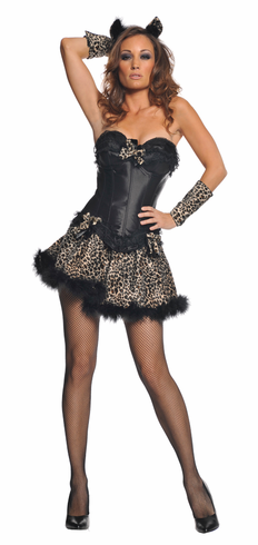 SEXY LEOPARD ADULT COSTUME