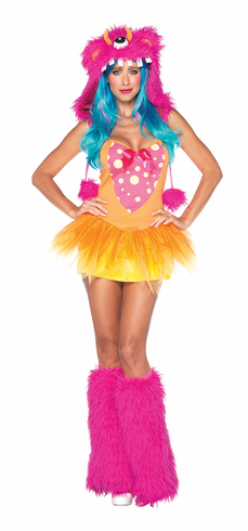 SHAGGY SHELLY ADULT COSTUME
