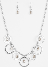 Silver Rochester Refinement Necklace