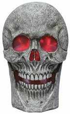 Skull Prop With Light And Sound