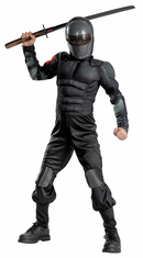 SNAKE EYES CLASS MUSCLE CHILD COSTUME